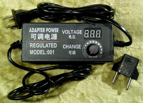 Блок живлення з регулятором 9-24 вольта